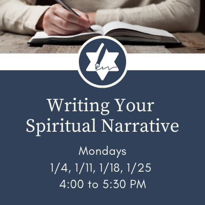 Banner Image for Writing Your Spiritual Narrative