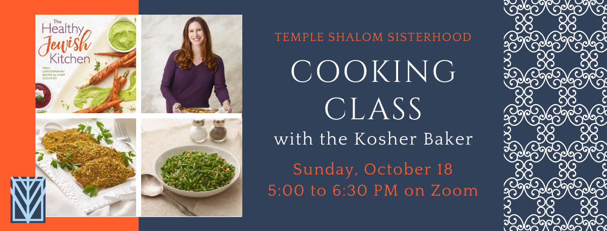 Banner Image for Cooking Class with The Kosher Baker