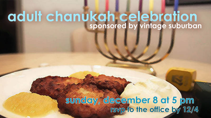 Banner Image for Annual Adult Chanukah Celebration