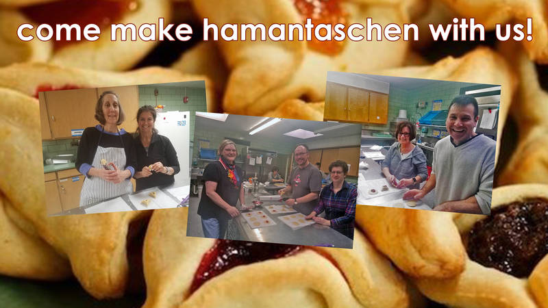 Banner Image for Come Make Hamantaschen with Us!