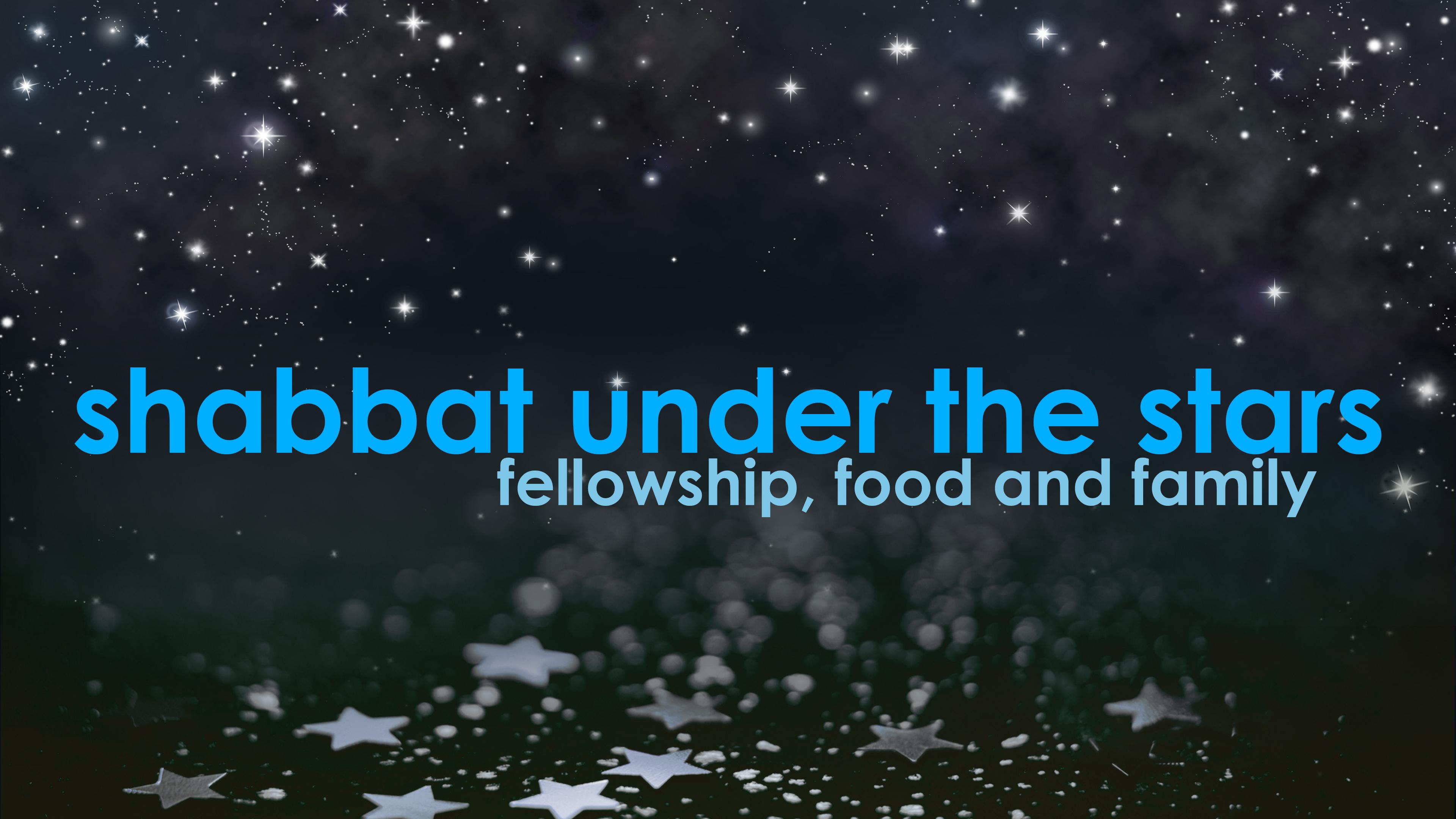 Banner Image for Shabbat Under the Stars 2019