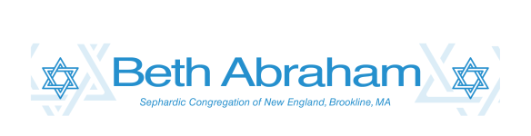 Logo for Beth Abraham Synagogue - Boston's Most Welcoming Sephardic Community