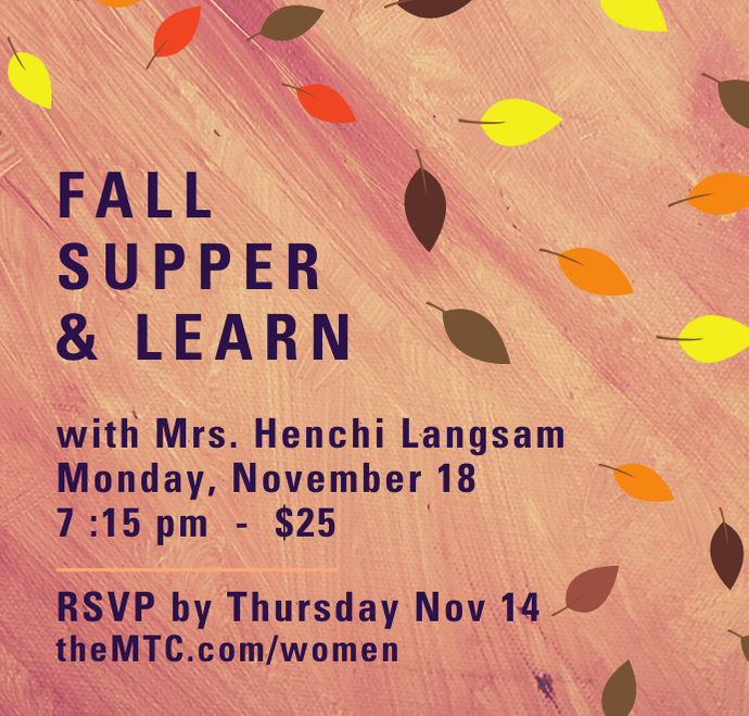 Banner Image for Fall Supper & Learn