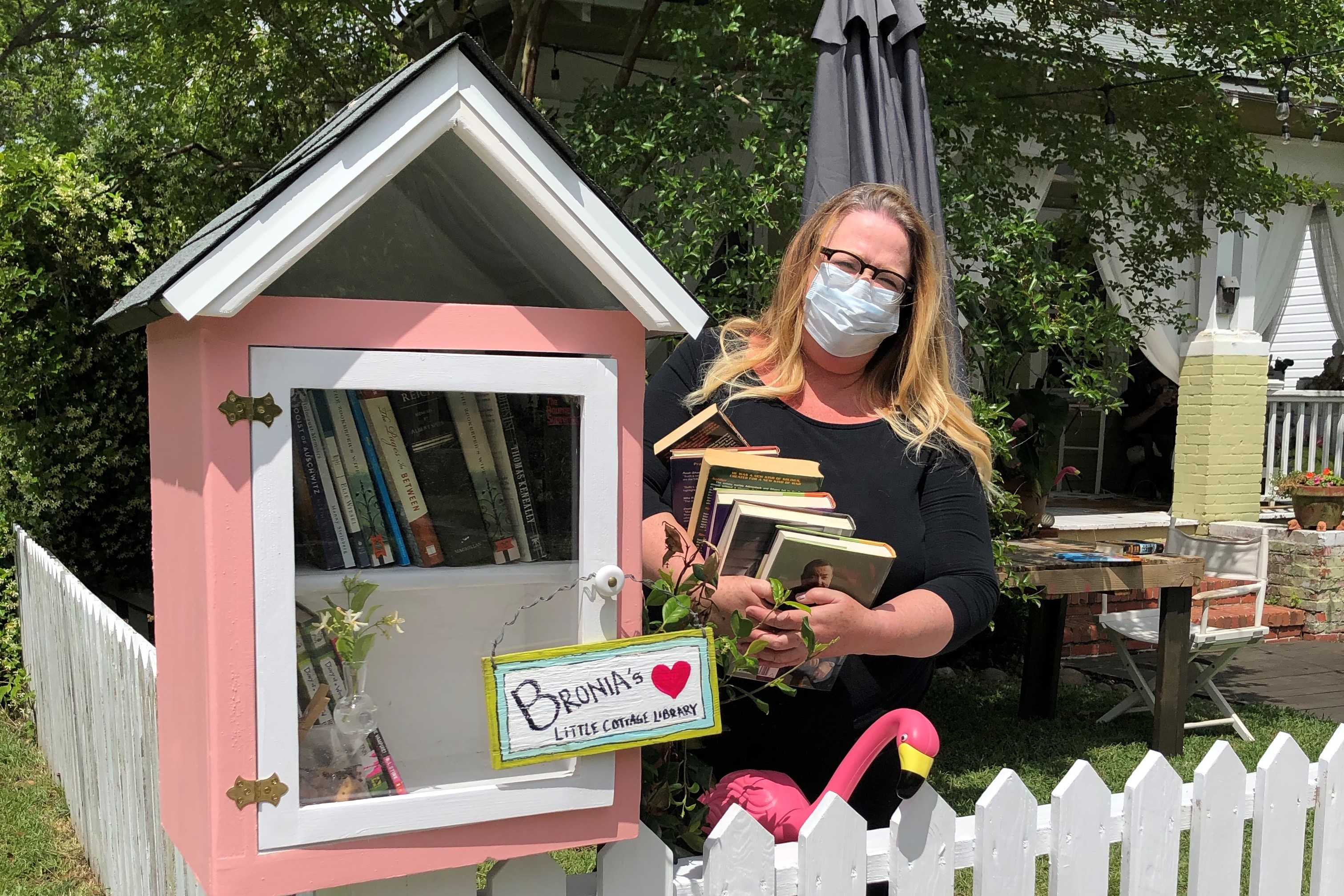 """<span class=""""slider_title"""">                                     Bronia's Cottage Library                                </span>"""