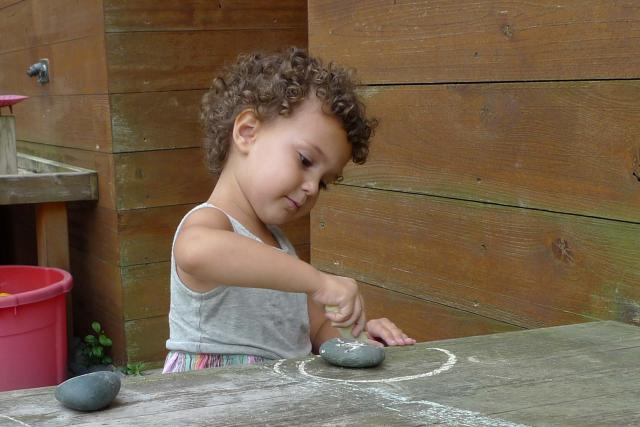 Child With Chalk