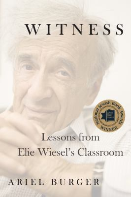 Banner Image for Book Discussion Group (Witness: Lessons From Elie Wiesel's Classroom)