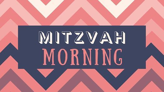 Banner Image for RESCHEDULED: Mitzvah Morning