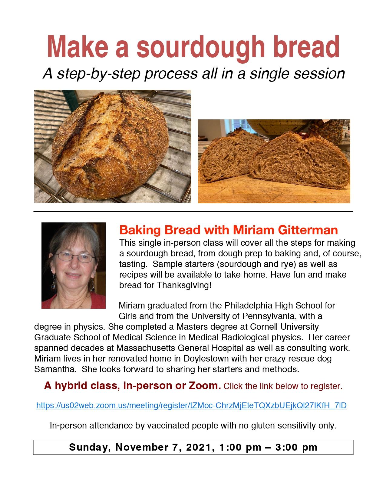 Banner Image for Make Sourdough Bread