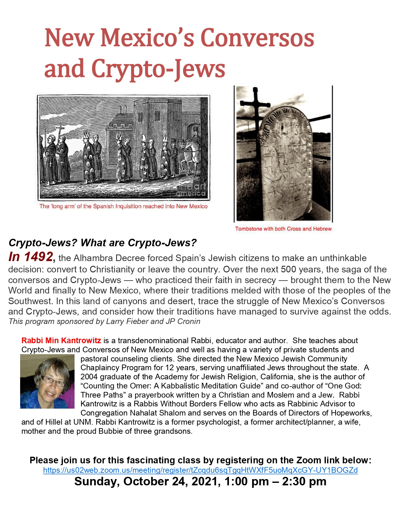 Banner Image for New Mexico's Conversos and Crypto-Jews