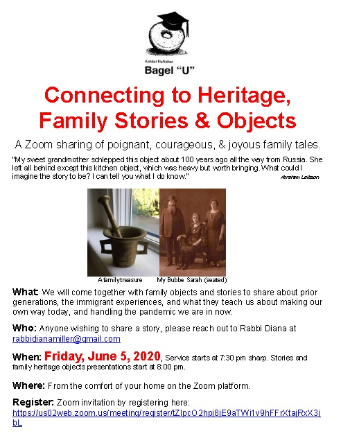 Banner Image for Connecting to Heritage through Family Objects