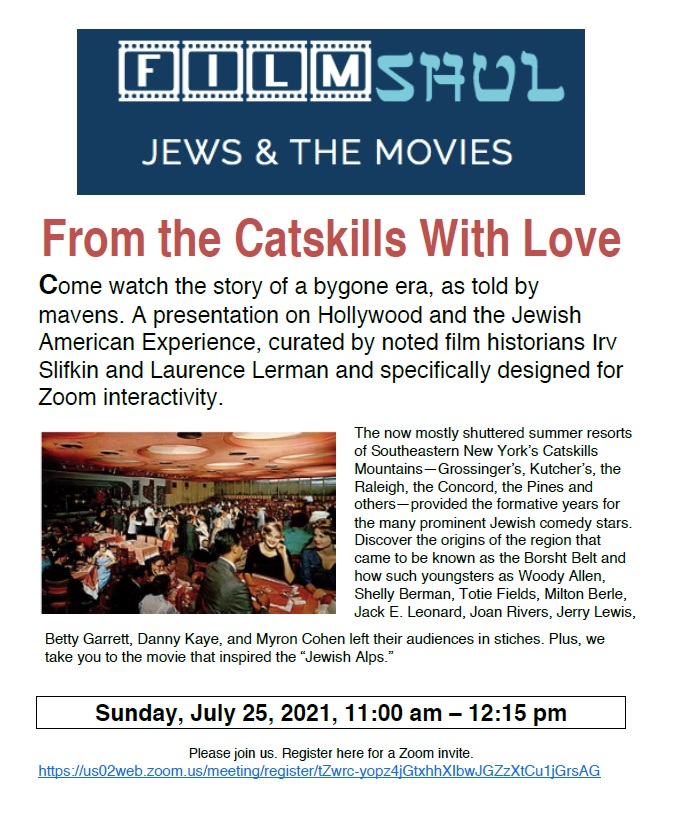 Banner Image for Bagel U Film Shul: From the Catskills With Love