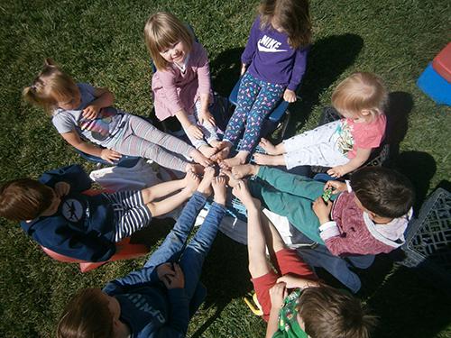 Gan Israel Preschoolers