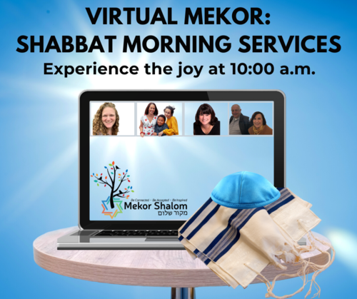 Banner Image for Virtual Mekor:  Shabbat Morning Services