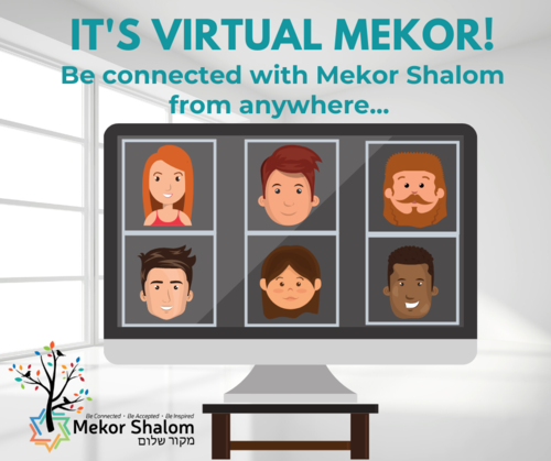 Banner Image for Virtual Mekor:  Pre-Shabbat Service & Songs