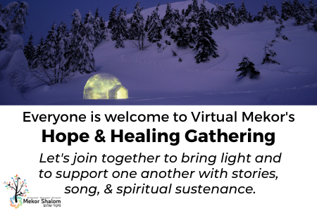 Banner Image for Virtual Mekor's Hope & Healing Gathering