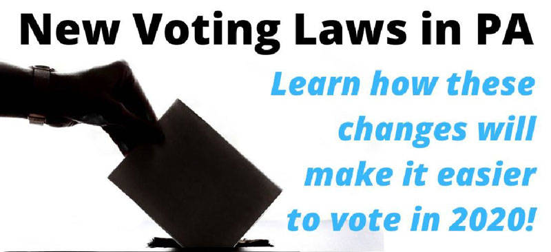Banner Image for Brunch & Lecture: Changes in PA Voting