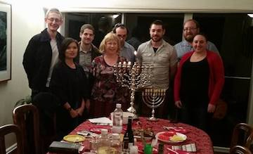 KN Marom Shabbat dinner
