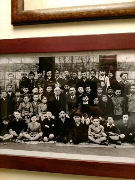 John with Classmates