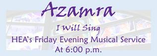 Banner Image for Azamra Musical Service