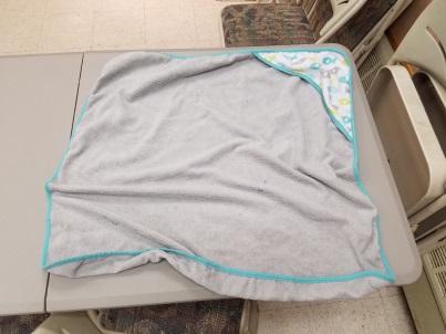 baby blanket or towel