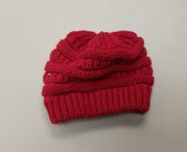 Large kids or small adult knit hat