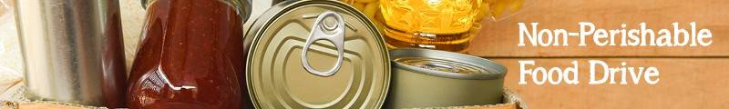 Banner Image for Non-Perishable Food Drive