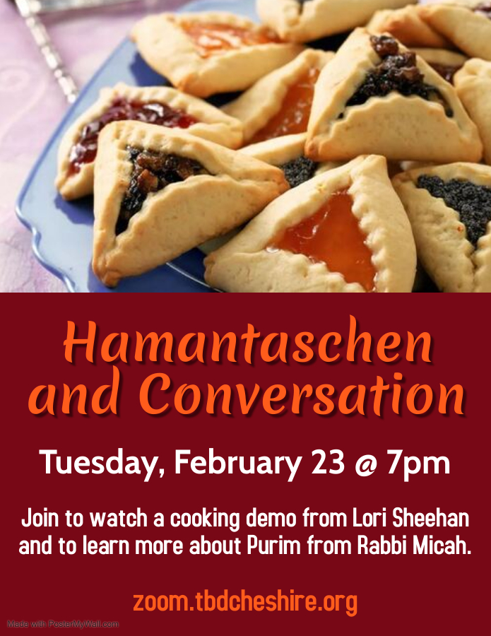 Banner Image for Hamantaschen and Conversation
