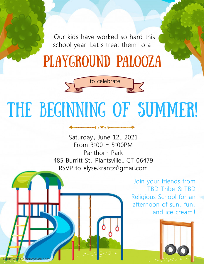 Banner Image for TBD Tribe & Religious School Playground Palooza