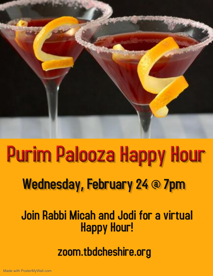 Banner Image for Purim Happy Hour