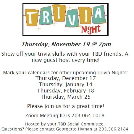 Banner Image for Trivia Night