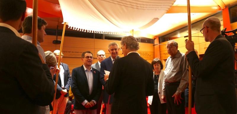 First Same-sex Wedding at Emanuel Synagogue