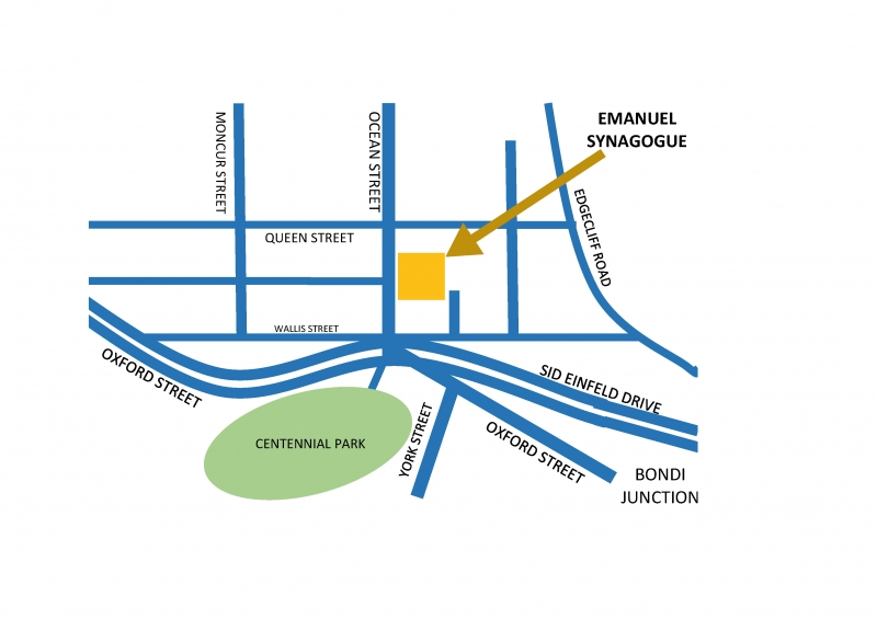 Woollahra map