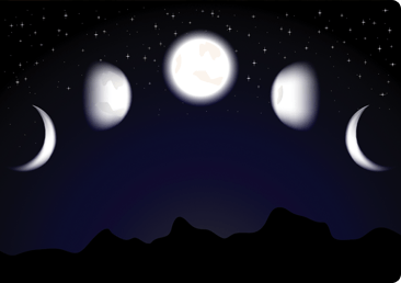 Rosh chodesh moons