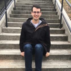 B'nei Mitzvah at Beth Shalom, pianist Evan Brudney