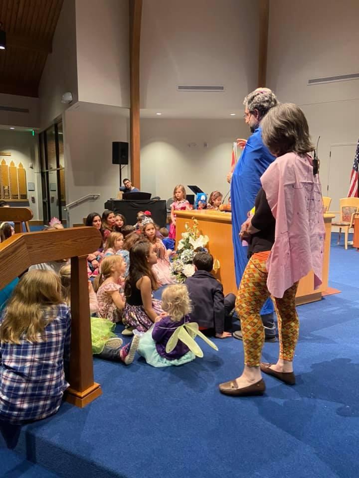 family Purim Shabbat at Beth Shalom