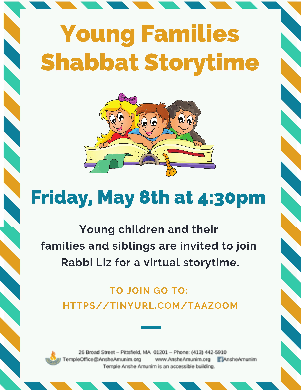 Banner Image for Family Shabbat Storytime