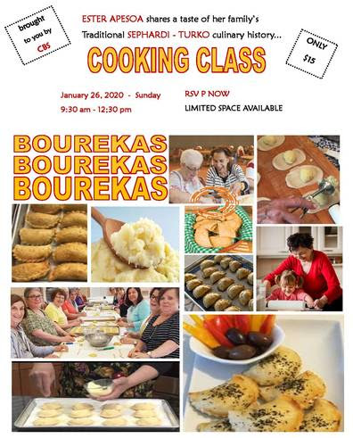 Banner Image for Cooking Class - Sephardic Bourekas