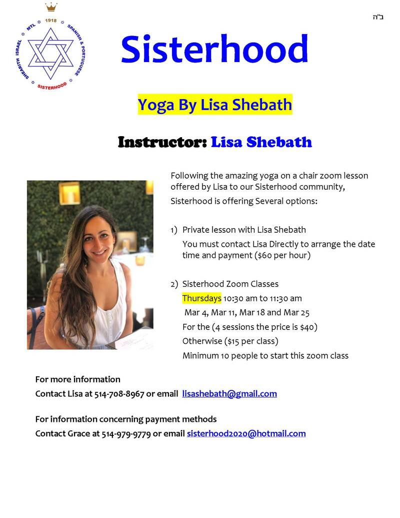 Banner Image for Sisterhood Yoga Class by Lisa Shebath