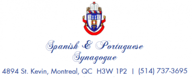 Logo for Spanish & Portuguese Synagogue of Montreal