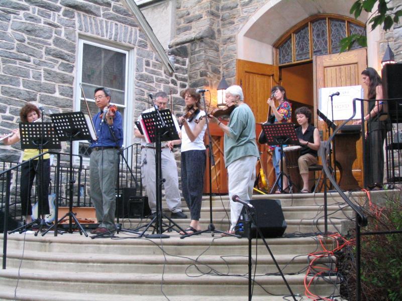 BIMAS performing in Swarthmore