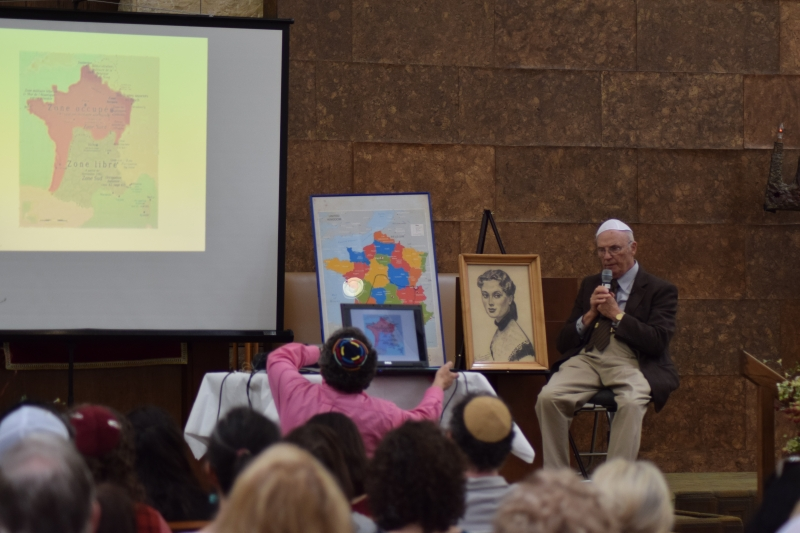 Daniel Vock, a Holocaust Survivor, discusses childhood experiences in France during the Holocaust