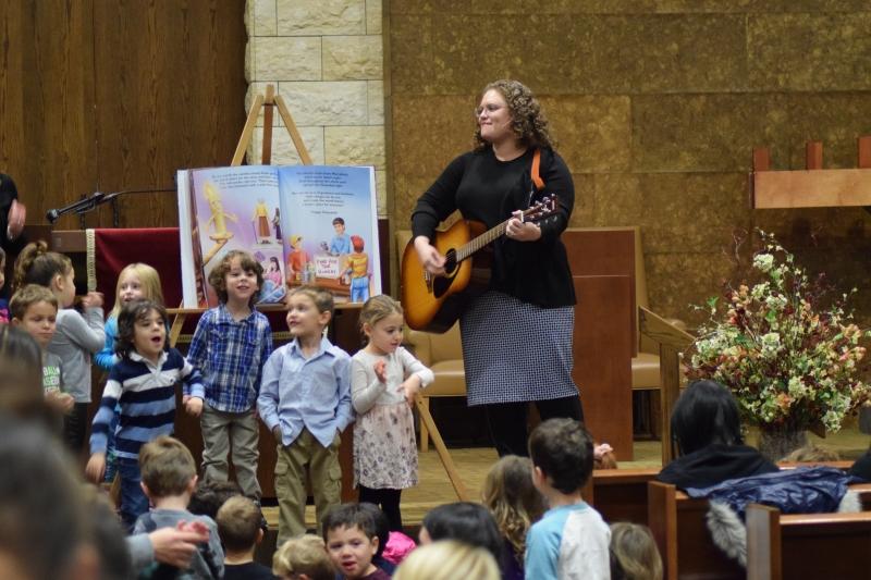 Cantor at Hannukah Kabbalat Shabbat
