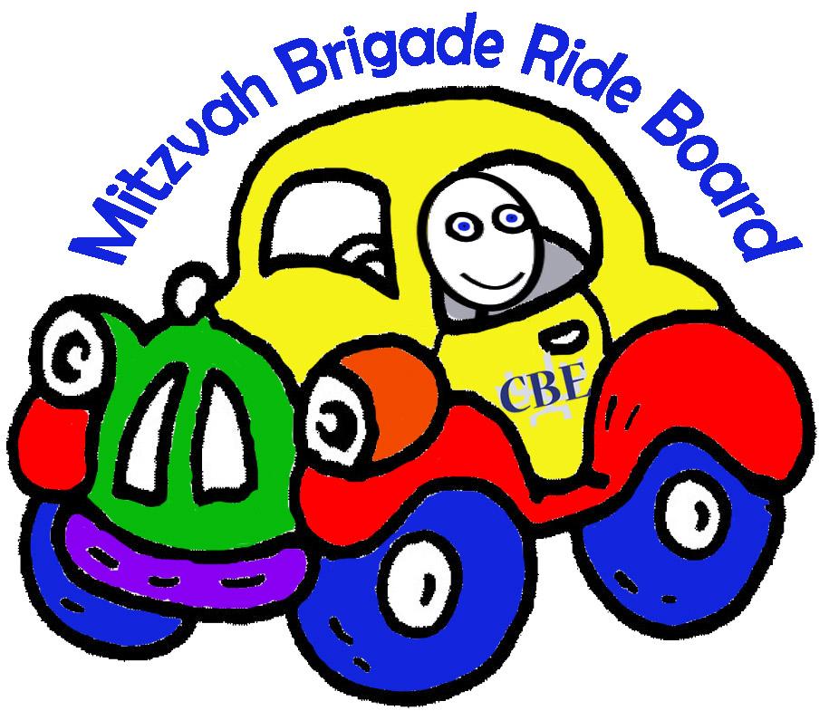 Mitzvah Brigade Ride Board Logo