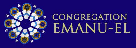 Logo for Congregation Emanu-El