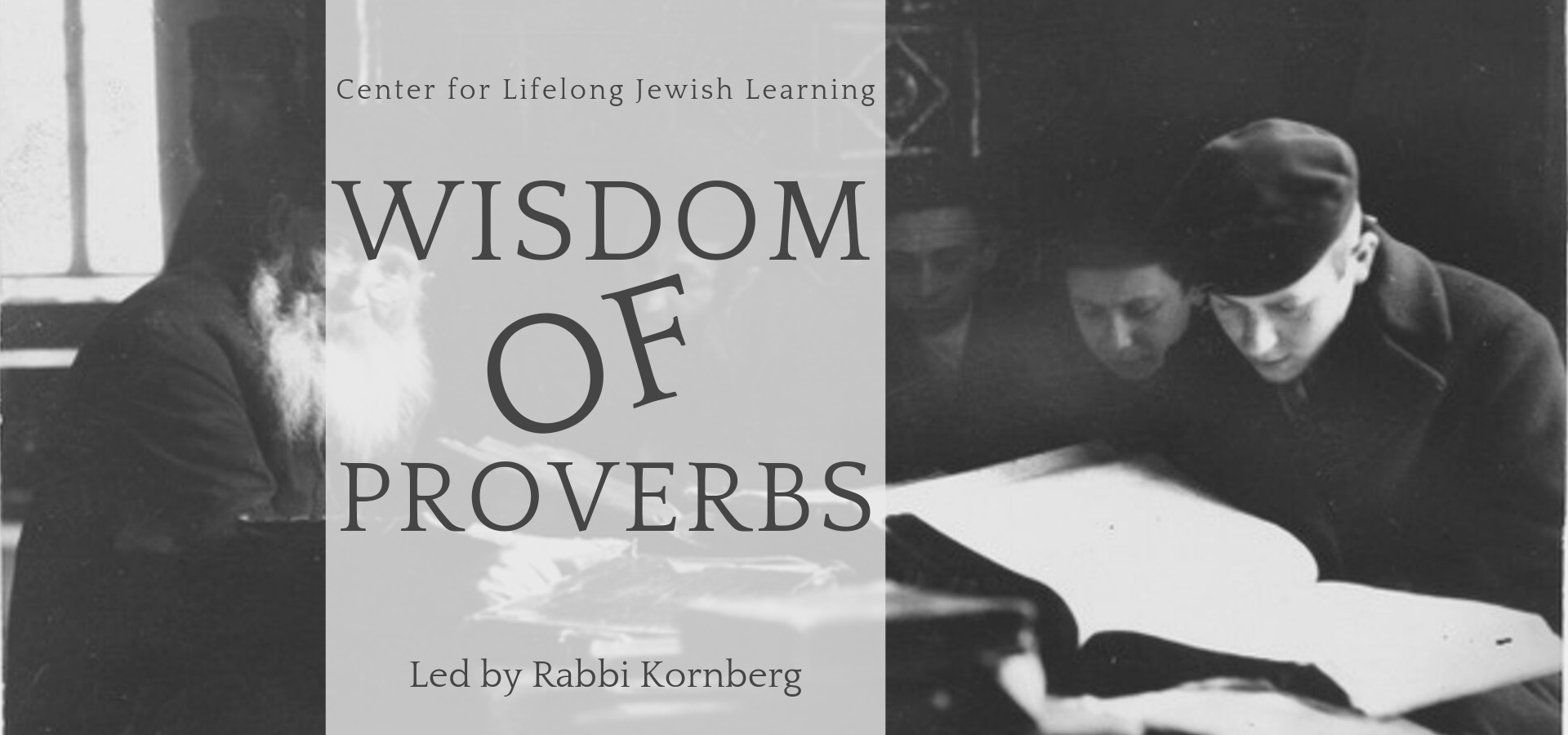 Banner Image for CLJL - Wisdom of Proverbs