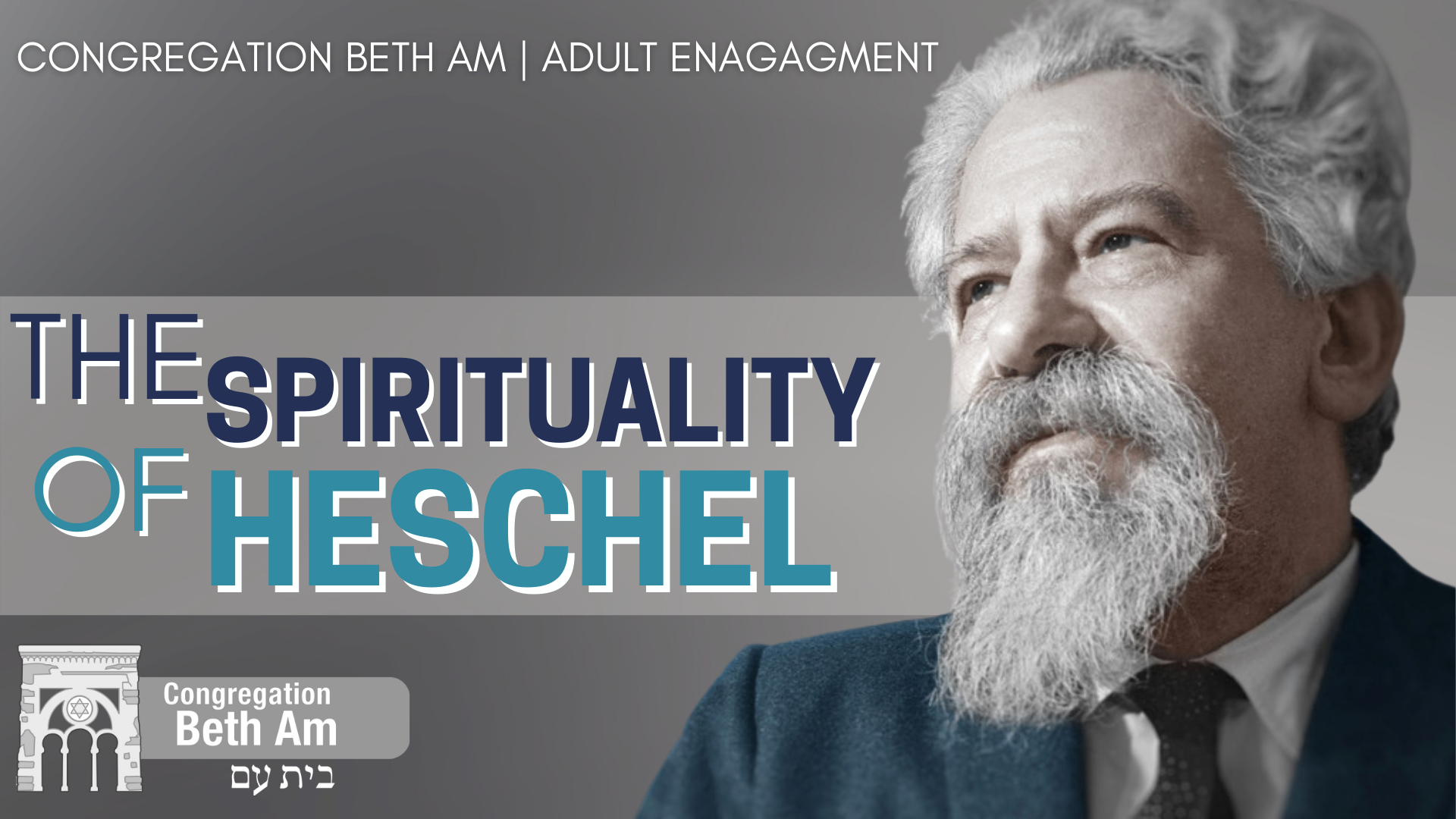 Banner Image for CLJL: The Spirituality of Heschel