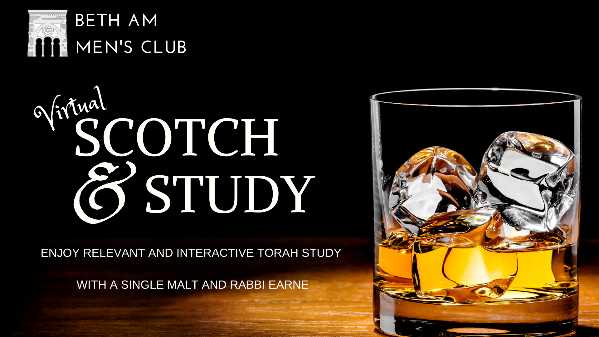 Banner Image for Men's Club: Scotch & Study (virtual)