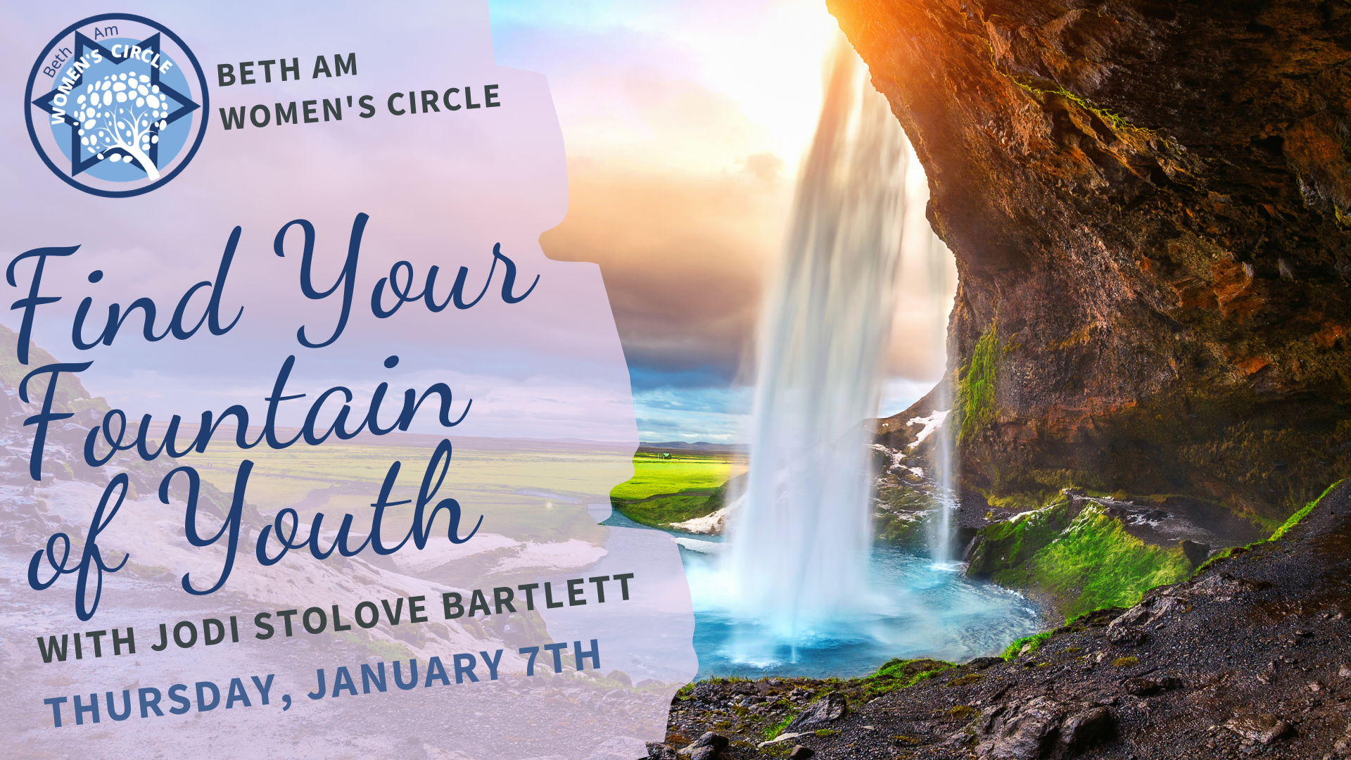 Banner Image for Find Your Fountain of Youth