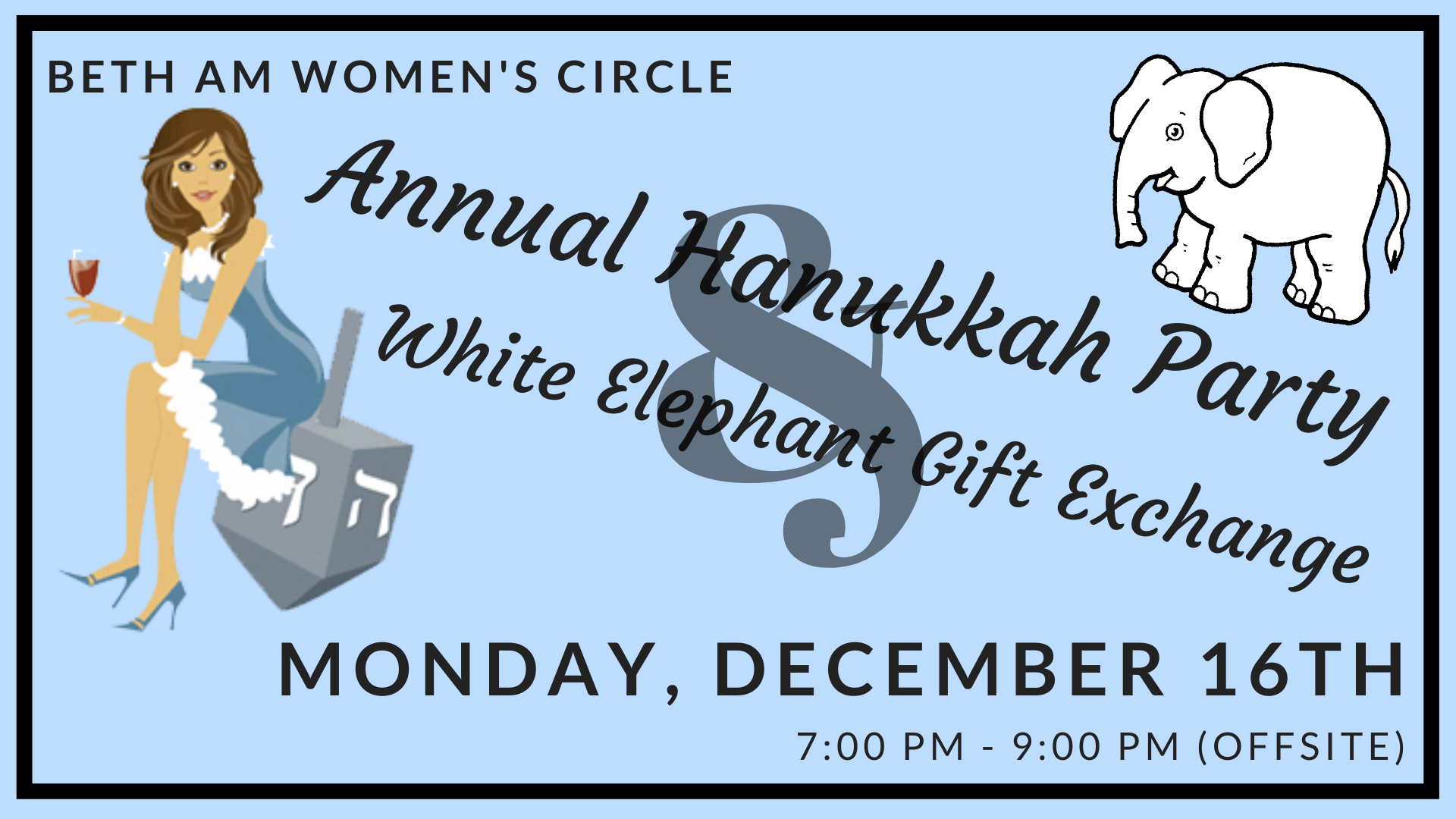 Banner Image for WC: Annual Hanukkah Party