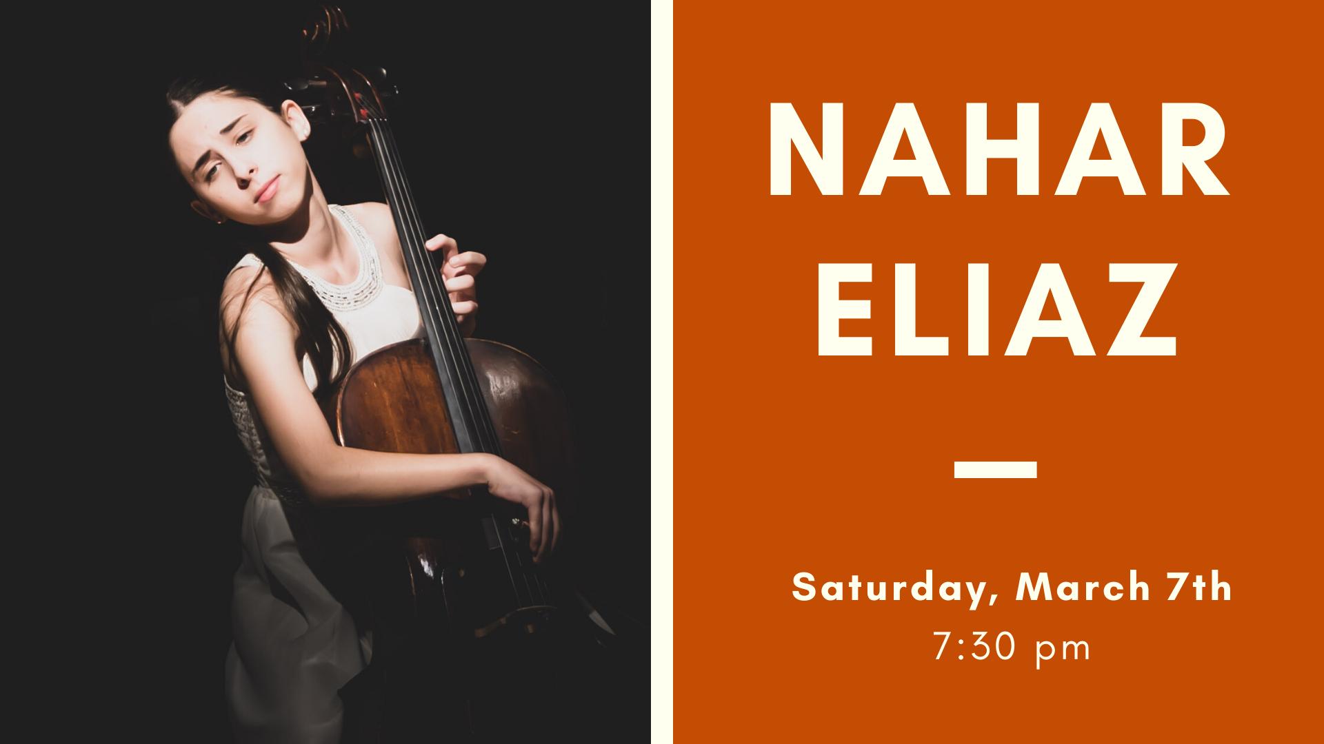 Banner Image for Nahar Eliaz Concert
